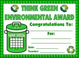 Student Environmental Award
