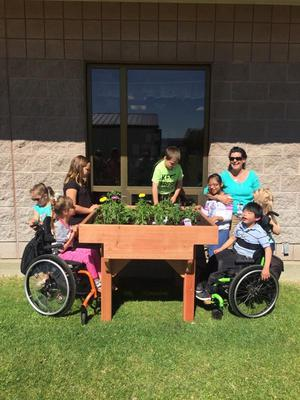 Midway Elementary School Accessible Garden